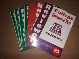 Review Books for CET (College Entrance Test) - Loyola Student Center