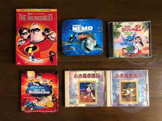 Disney Collection Movie DVDs