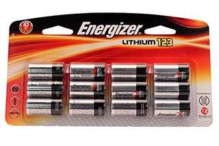 Energizer CR123 batteries