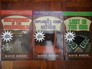 Lost Minecraft Journals Series by Winter Morgan