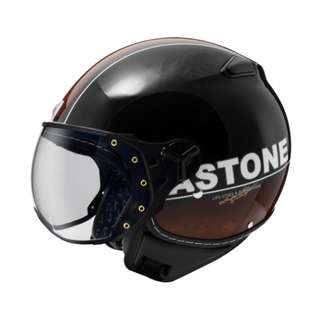 🚚 ASTONE KSR DD70 法國 飛行員 半罩 3/4罩 安全帽 復古帽 - 黑