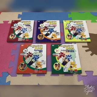 Easy Mandarin for Kids VCD Bundle