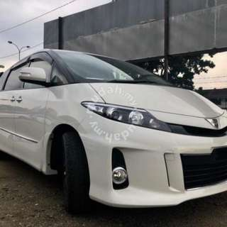 Estima 7 seater Private Car Transportation Singapore to JB/Malaysia