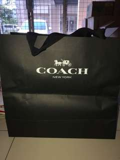Paper bag coach extra large luxury special