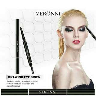 Drawing eyebrow waterproof/pensil alis veronni