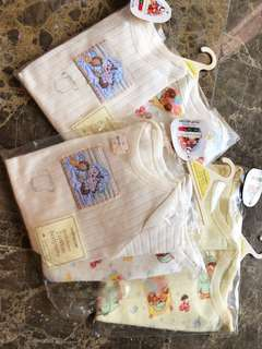 Mothercare short sleeve cotton budysuits