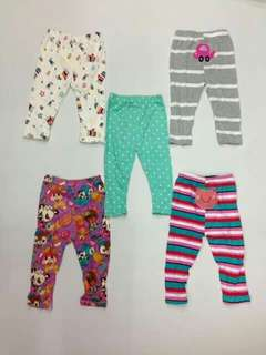 5pc Carter's Baby Pants
