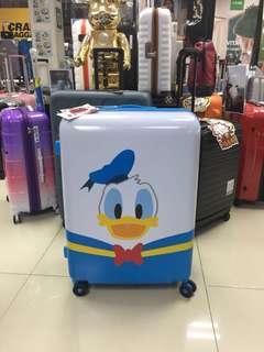 阿豪 全新 超可愛 可擴大 大孖轆 唐老鴨 25吋 行李箱
