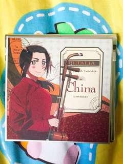 APH Hetalia ヘタリア 立色紙 vol.2 - 中國 China