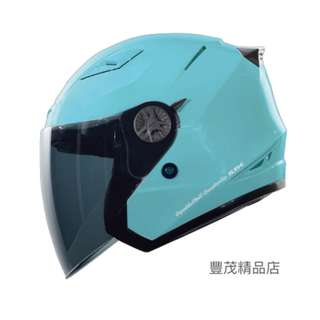 🚚 SBK TYPE-R III R3 3/4罩 半罩 安全帽 內墨鏡 內襯全可拆 - 綠
