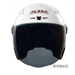 🚚 SBK TYPE-R3 III R3 3/4罩 半罩 安全帽 內墨片- 白