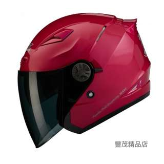 🚚 SBK TYPE-R3 III R3 3/4罩 半罩 安全帽 內墨片- 桃紅