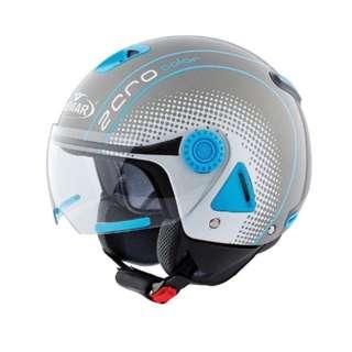 🚚 ✅ 出清折扣✅VEMAR 義大利 Vemar Zero JC-03 JC03 半罩/安全帽/W鏡片 - 灰/藍