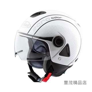 🚚 ✅ 出清折扣✅VEMAR 義大利 ZERO JC-02 JC02 半罩 3/4罩 安全帽 - 白/黑