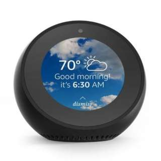 Amazon Echo Spot with Alexa Smart Speaker Home Streamer Voice Control
