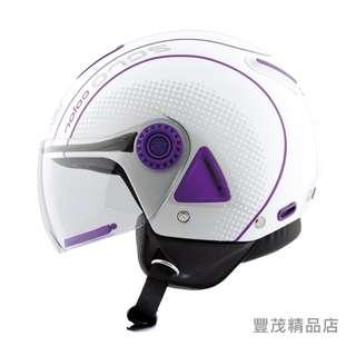 🚚 ✅ 出清折扣✅VEMAR 義大利 ZERO JC-04 JC04 半罩/3/4罩 安全帽 - 白/紫
