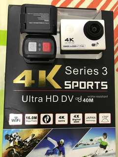 4k series 3 sports camera