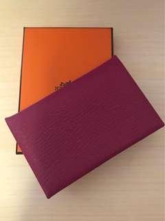 Hermes Calvi cardholder
