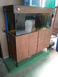 75gallon aquarium with complete accesories