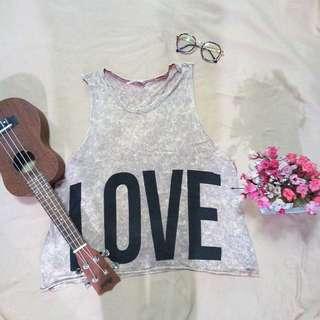 Love-Hate Muscle Tee