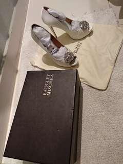 wedding shoes, only worn 1 time, harga baru 3.5-4 jt an, lepas 2 jt udah ongkir, nyaman banget