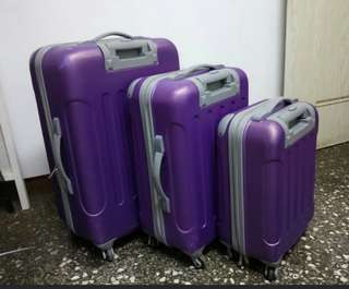 Luggage set 3 pc's