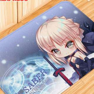 Saber fate floor mat