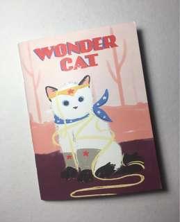 Wonder Cat Notebook