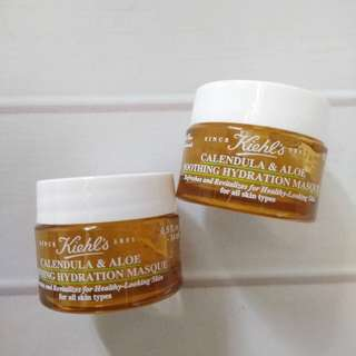 Kiehl's Mask. Calendula & aloe soothing masque