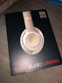 Beats Studio Wireless Gold Metallic Collection