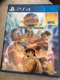 PS4 Street Fighter 30th Anniversary Edition