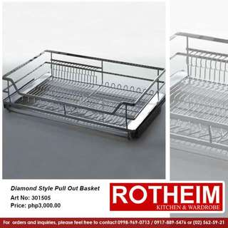 Rotheim Diamond Style Pull-out Basket