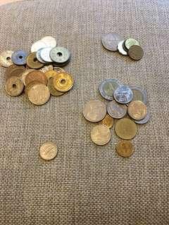 🚚 日本/香港/泰國錢幣