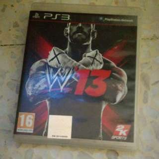 wwe 13 ps3 games