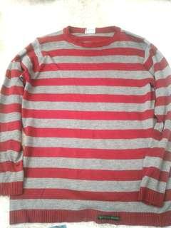 Sweater panjang sleeve insider no hnm uniqlo zara moc wood