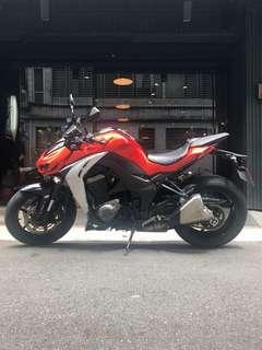 2014年 Kawasaki Z1000 ABS 車況極優 可分期 免頭款 可換車