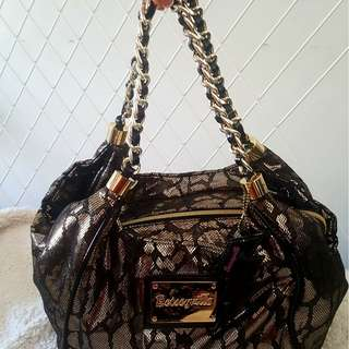 Betseyville gold black bag