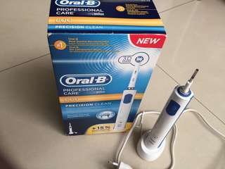 🚚 ORAL-B PROFESSIONAL CARE 600 - POWERED BY BRAUN.