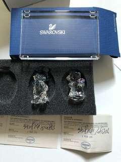 Swarovski 水晶結婚擺設