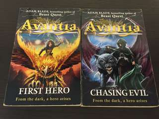 The Chronicles of Avantia books one and 2
