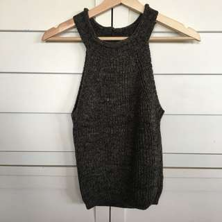 Women's thick wool top