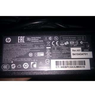 HP原裝PA-1650-32HH筆記本適配器/變壓器laptop AC adapter/Adaptor/Charger 19.5V 3.33A 65W