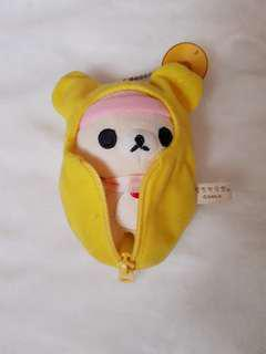 Korilakkuma in sleeping bag