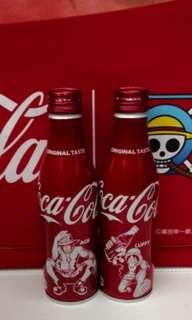 可口可樂日本海賊王紀念鋁樽