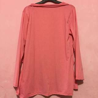 cardigan/outer pink