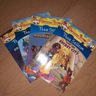 Thea Stilton Books (Geronimo Stilton)