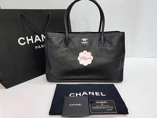 Authentic Chanel Caviar Leather Large Executive Cert Tote Bag SHW {{ Only For Sale }} ** No Trade ** {{ Fixed Price Non-Neg }} ** 定价 **