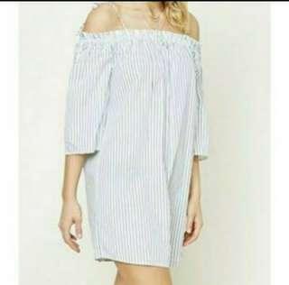 Forever 21 off shoulder dress