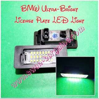 Ultra-Bright BMW Error-Free 6500K Crystal White LED License Plate Lamp Replacement Light Modules