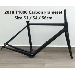 New Carbon Frameset, Road Frame